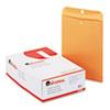 Universal® Kraft Clasp Envelope, Center Seam, 28lb, 9 1/2 x 12 1/2, Brown Kraft, 100/Box UNV35265