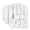 """IMPACT & INKJET PRINT BOND PAPER ROLLS, 0.5"""" CORE, 2.25"""" X 126FT, WHITE, 100/CARTON"""