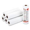 """Universal® Economical Thermal Facsimile Paper, 1"""" Core, 8-1/2"""" x 164 ft, 6/Carton UNV35751"""