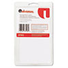 Universal® Self-Adhesive Postage Meter Labels, 1-1/2w x 2-3/4 or 5-1/2, WE, 40 Sheets/Pack UNV37103