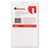 "Universal® Self-Adhesive Removable Color-Coding Labels, 3/4"" dia, White, 1008/Pack UNV40108"