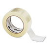 "Universal® General-Purpose Acrylic Box Sealing Tape, 48mm x 100m, 3"" Core, Clear, 6/Pack UNV53200"