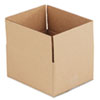 "Fixed-Depth Shipping Boxes, Regular Slotted Container (RSC), 12"" x 10"" x 6"", Brown Kraft, 25/Bundle"