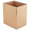 "Fixed-Depth Shipping Boxes, Regular Slotted Container (RSC), 24"" x 18"" x 18"", Brown Kraft, 10/Bundle"