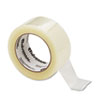 """Universal® Quiet Tape Box Sealing Tape, 48mm x 100m, 3"""" Core, Clear, 6/Pack UNV73000"""