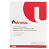 Universal® Laser Printer Permanent Labels, 3 1/3 x 4, White, 600/Box UNV80108