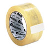 """Universal® Heavy-Duty Box Sealing Tape, 48mm x 50m, 3"""" Core, Clear, 12/Pack UNV96000"""