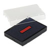 Identity Group Trodat T4729 Dater Replacement Pad, 1 9/16 x 2, Blue/Red USSP4729BR