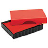 """<strong>Trodat®</strong><br />T4911 Self-Inking Stamp Replacement Pad, 0.56"""" x 1.5"""", Red"""