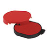 Identity Group Trodat T5415 Stamp Replacement Ink Pad, 1 3/4, Red USSP5415RD