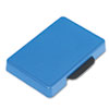Trodat T5460 Dater Replacement Ink Pad, 1 3/8 x 2 3/8, Blue