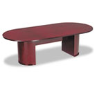 "Alera® Verona Series 96"" Racetrack Conference Table Top with Modesty Panel"
