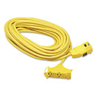 COC02837 - Ground Fault Circuit Interrupter Cord Set, 25 Feet, Yellow