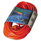 COC02308 - Vinyl Outdoor Extension Cord, 50ft, 13 Amp, Orange
