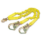 DBS1244412 - ShockWave2 Shock-Absorbing Lanyard, Steel Hooks, 900lb MAF