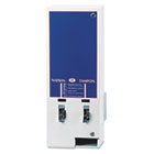 HOSED125 - Electronic Vendor Dual Sanitary Napkin/Tampon Dispenser, Coin Operated, Metal