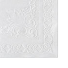 HFM601SE1014 - Classic Embossed Straight Edge Placemats, 10 x 14, White, 1000/Carton