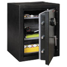 FIRKF2418HBLE - Half Hour Fire and Water Safe, 4.02 ft3, 21-3/5 x 19 x 27-1/4, Black