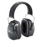 UVX1010924 - Leightning L3 Noise-Blocking Earmuffs, 30NRR, Black/Gray