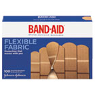 JOJ11507800 - Flexible Fabric Adhesive Bandages, Assorted, 100/Box