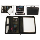 BND710029BLK - Tablet Organizer with Removable Pad Holder, 14 1/4 x 2 1/2 x 11 1/4, Black