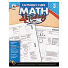 CDP104592 - Common Core 4 Today Workbook, Math, Grade 3, 96 pages