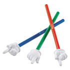 "LRNLER2655 - Hand Pointers Set, 15"", Assorted Colors, 3/Set"