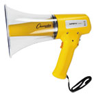 CSIMP8W - Megaphone, 8-12W, 800 Yard Range, White/Yellow