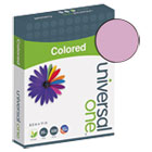UNV11212 - Colored Paper, 20lb, 8-1/2 x 11, Orchid, 500 Sheets/Ream