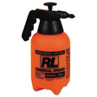 RLF1985LG - Hand Sprayer with Adjustable Nozzle, Polyethylene, 64 oz, Black/White
