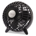 "HWLGF3B - Chillout USB/AC Adapter Personal Fan, Black, 6""Diameter, 1 Speed"