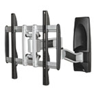BLT66648 - HG Articulating Flat Panel Wall Mounts, 19w x 22d x 17 3/4h, Silver/Black