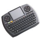 SKKVP6364 - Wireless Ultra Mini Touchpad Keyboard, Black