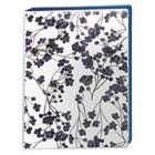 "AVE18444 - Durable Mini Fashion Binder, 8 1/2 x 5 1/2, 1"" Capacity, Floral/Navy"