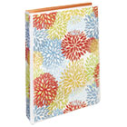 "AVE18447 - Durable Mini Fashion Binder, 8 1/2 x 5 1/2, 1"" Capacity, Floral/Orange"