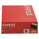 UNV15363 - 5 1/4 Inch Expansion File Pockets, Straight, Legal, Redrope/Manila, 10/Box