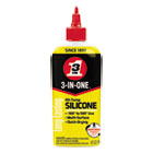 WDF120008CT - 3-IN-ONE Professional Silicone Lubricant, 4 oz Bottle, 12/CT