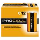 DURPC1400 - Procell Alkaline Batteries, C, 12/Box