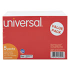 UNV47225 - Unruled Index Cards, 4 x 6, White, 500/Pack
