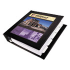"AVE68058 - Framed View Heavy-Duty Binder w/Locking 1-Touch EZD Rings, 1 1/2"" Cap, Black"