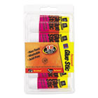 AVE98089 - Permanent Glue Stics, White Application, .26 oz, Stick, 18/Pack