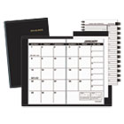 AAG7006405 - Pocket-Size Monthly Planner, 3 5/8 x 6 1/8, White, 2017-2018