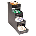 VRTVFC1916RC - Narrow Condiment Organizer, 6w x 19d x 15 7/8h, Black