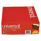 UNV15262 - 5 1/4 Inch Expansion File Pockets, Straight Tab, Letter, Redrope/Manila, 10/Box