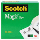 "MMM8101K - Magic Tape, 3/4"" x 1000"", 1"" Core, Clear"