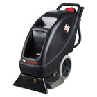 EURSC6095A - Model SC6095 Upright Carpet Cleaner, 9 gal Recovery Tank, 100 psi, Black