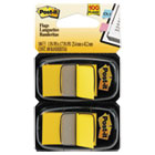 MMM680YW2 - Standard Page Flags in Dispenser, Yellow, 100 Flags/Dispenser