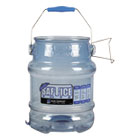 SJMSI6100 - Saf-T-Ice Tote, 5gal, Transparent Blue