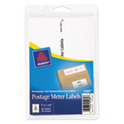 AVE05289 - Postage Meter Labels for Personal Post Office E700, 1 25/32 x 6, White, 60/Pack