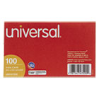UNV47200 - Unruled Index Cards, 3 x 5, White, 100/Pack